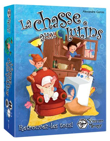 Caixa do jogo La Chasse aux Lutins